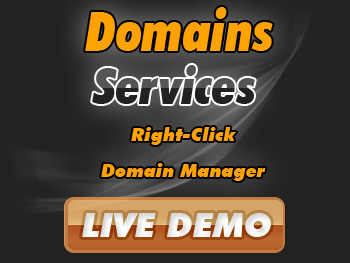 Half-price domain registration services